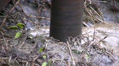 Borehole for water Stock Footage