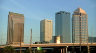Tampa at Sunrise Stock Footage