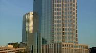 Tampa Morning Pan Stock Footage