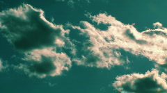 JHD - Sky & Clouds - cloudy timeRamp 00407 Stock Footage