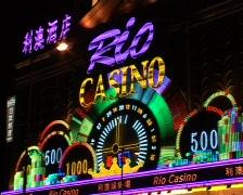 Macao rio casion - stock footage