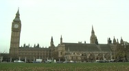 Stock Video Footage of Westminster London, Houses of Parliament