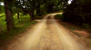 Stock Video Footage of Dirt Road 2 - 1920x1080 HD