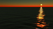 Db ocean 16 hd1080 sunset Stock Footage