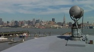 Manhattan Boat View 01 Stock Footage