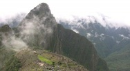 Stock Video Footage of Machu Picchu Time Lapse