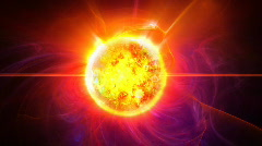 Stock Video Footage of Sun star HD