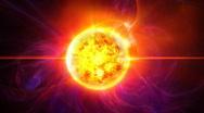 Sun star HD Stock Footage