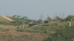 Xhosa house Stock Footage