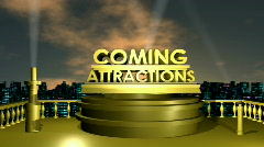 Coming Attractions HD1080 Stock Footage