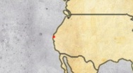 Stock Video Footage of Archeologist Adventurer Map 02
