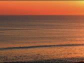 Sunrise ocean Stock Footage