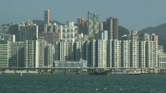 View Of Hong Kong Island Highway Stock Footage