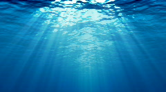 UNDERWATER  BACKGROUND HD Stock Footage