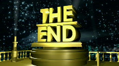 The End HD1080 Stock Footage