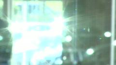 Walking Glass - stock footage