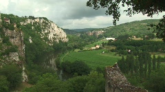 Picturesque village France 01 - stock footage