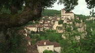 Stock Video Footage of Picturesque village France 02