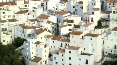 Casares, Andalucia, Spain Stock Footage