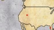 Adventurer Archeologist Map 03 Stock Footage