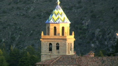Albarracin Teruel province Spain Stock Footage