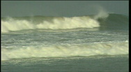 Stock Video Footage of waves at the beach