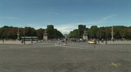 Champs Elysees 02 Stock Footage