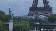 Stock Video Footage of Liberty eiffel 02
