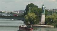 Liberty in Paris 01 Stock Footage