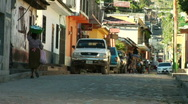 Stock Video Footage of Small Town Honduras