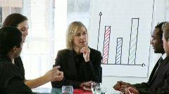 Business-joukkueen naispuolinen johtaja Arkistovideo