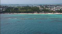 Bermuda Aerial 2 Stock Footage