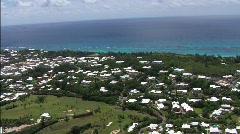 Bermuda Aerial 10 Stock Footage