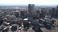 Stock Video Footage of Downtown Denver Aerial