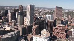 Denver Aerial 8 - stock footage