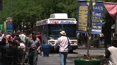 16th Street Mall Denver Colorado -1 Stock Footage