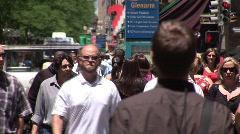 16th Street Mall Denver Colorado -3 Stock Footage