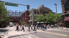 16th Street Mall Denver Colorado -11 Stock Footage