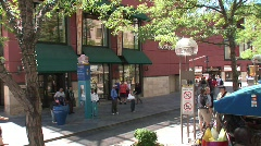 Stock Video Footage of 16th Street Mall Denver Colorado -15