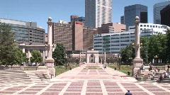 Denver, CO civiccenterpark 708 4 Arkistovideo