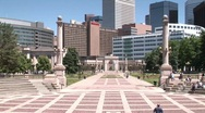 Stock Video Footage of Denver, CO civiccenterpark 708 4
