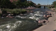 Stock Video Footage of Denver, CO confluence 708 1