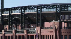 Coors Field - Denver, Colorado Stock Footage