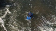 Downtown Kayak Stock Footage