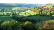 Stock Video Footage of English countryside Uley