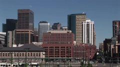 Union Station Denver, Colorado Stock Footage