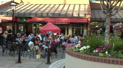 Writers square, Denver Colorado Stock Footage