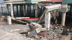 galveston hurricane 908 21 - stock footage