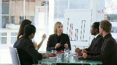 Liiketoiminnan joukkue naispuolinen johtaja Arkistovideo