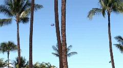 Maui parasail 1006 1 Stock Footage
